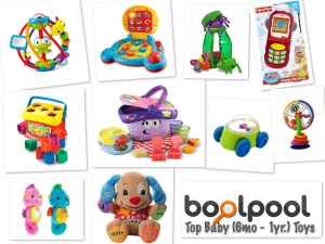 Reviews of Top 10 Baby Toys (6mo - 1yr) - Side by Side Comparison