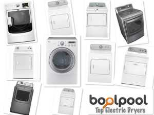 Reviews of Top 10 Electric Dryers - Side by Side Comparison