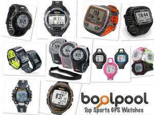 Reviews of Top 10 Sports GPS Watch - Side by Side Comparison