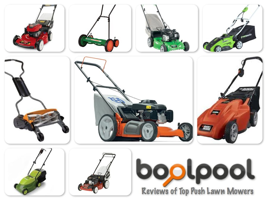 Reviews of Top 10 Push Lawn Mowers