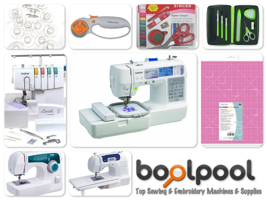 Reviews of Top 10 Sewing and Embroidery Machines and Supplies - Be Your Own Designer
