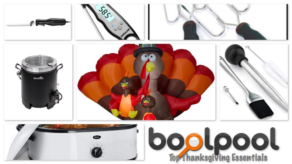 Top 8 Thanksgiving Essentials