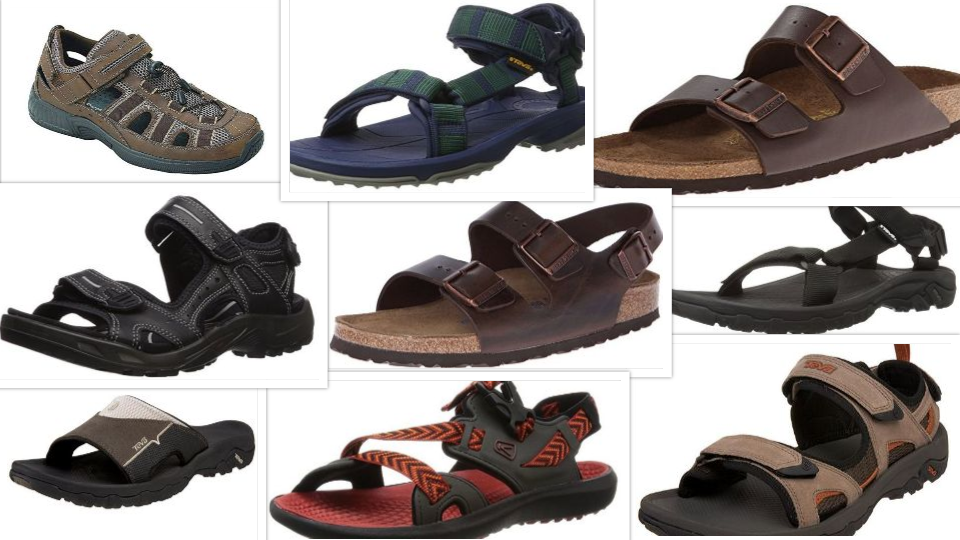 Top 9 Stylish Sandals for Men