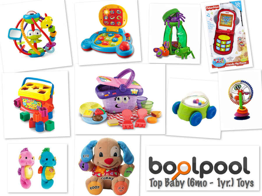 Top 10 Baby Toys : Reviews of top newborn toys side by comparison