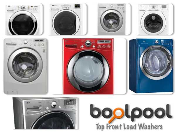 Reviews of Top 8 Front Load Washers - Side by Side Comparison
