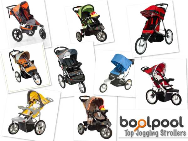 Reviews of Top 9 Jogging Strollers - Side by Side Comparison