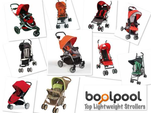 Reviews of Top 10 Lightweight Strollers - Side by Side Comparison
