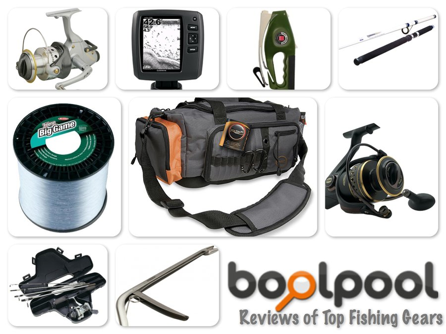 Reviews of Top 10 Fishing Gears - Go Fishing!