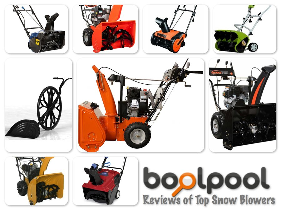 Reviews of Top 10 Snow Blowers - Don't Shovel- Just Blow and Throw