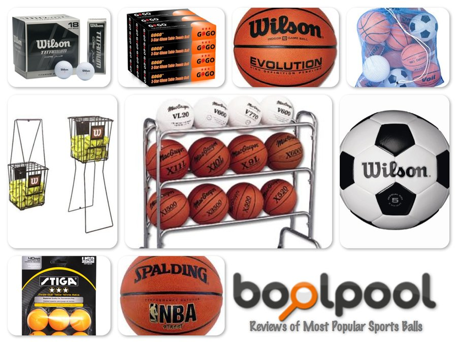 Reviews of 10 Most Popular Sports Balls and Ball Organizers - Reviews of Top 10 Golf Items - Play Your Best Game!