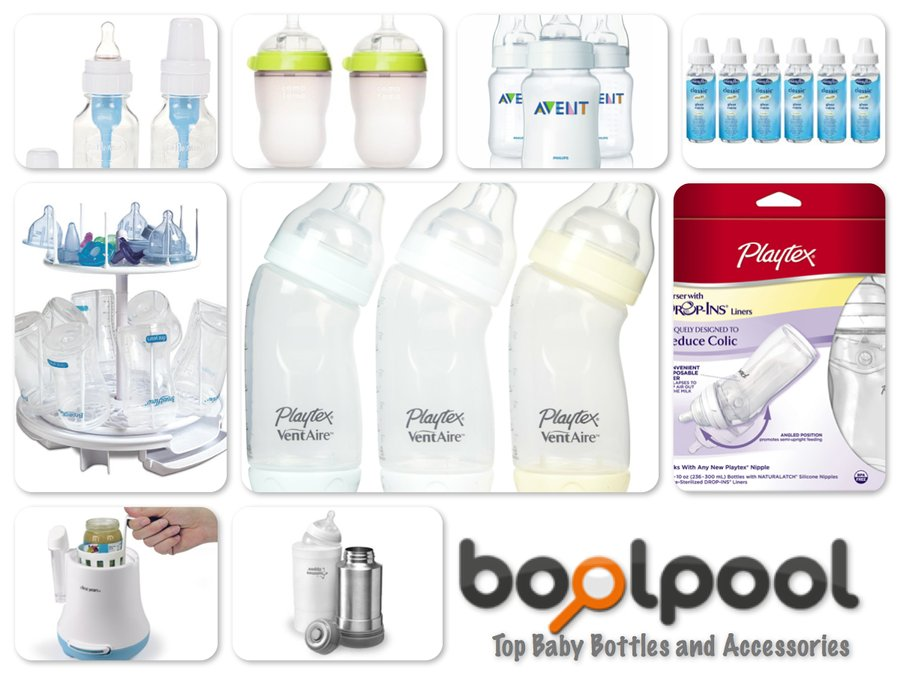 Reviews of Top 10 Baby Bottles and Accessories - For Good Feeding Times