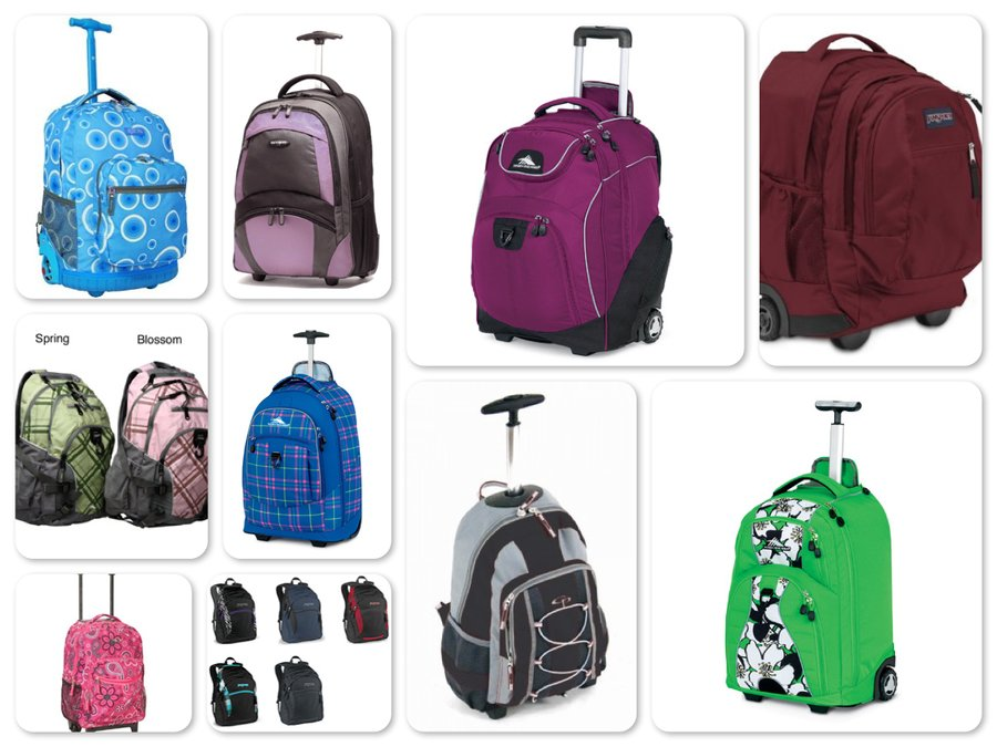 Reviews of Top 9 Backpacks and Roller Backpacks for Back to School