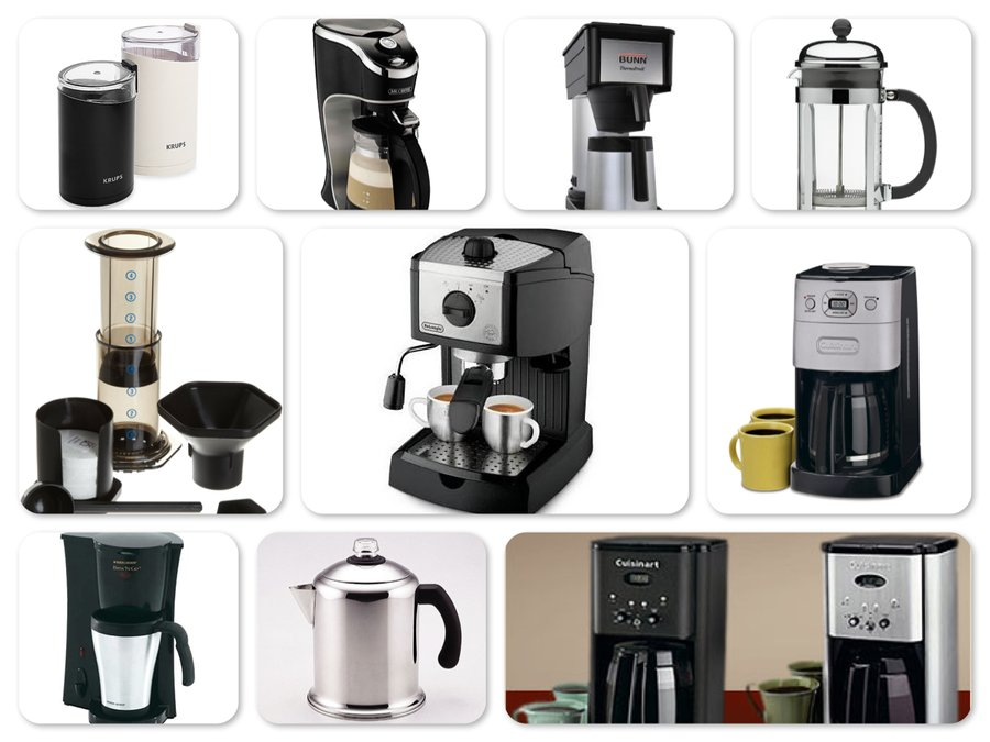 Reviews of Top 10 Coffee & Espresso Makers - Enjoy Every Sip of Your Coffee!