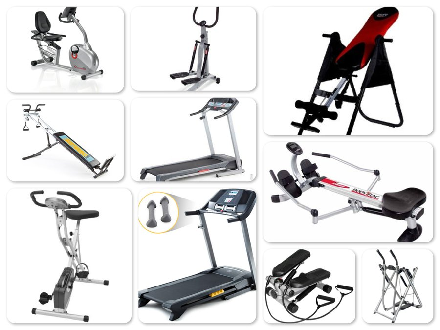 Reviews of Top 10 Exercise Equipment - Get Fit and Healthy!