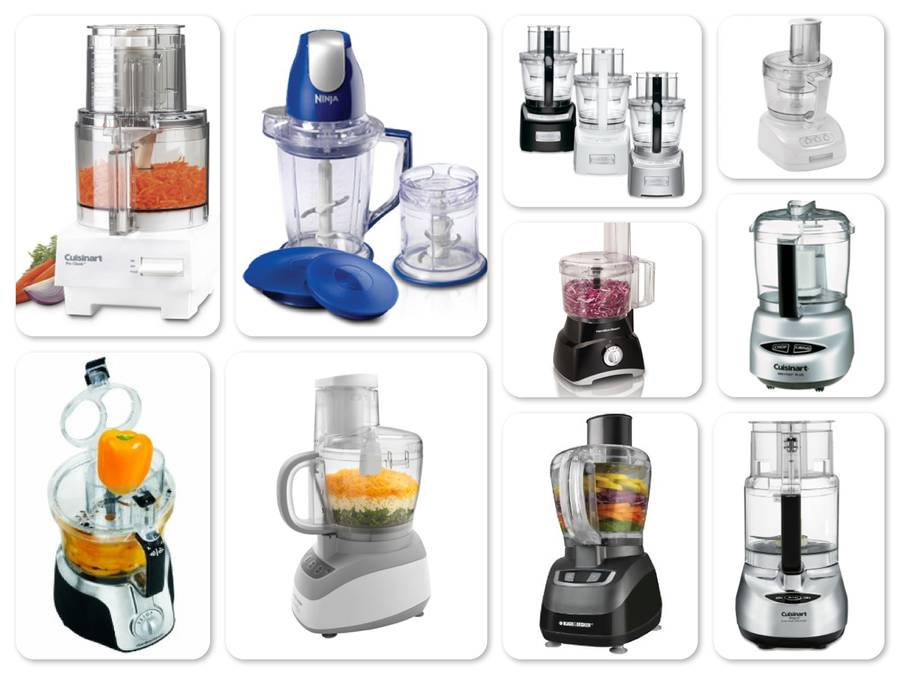 Reviews of Top 10 Food Processors - Reviews of Top 10 Kitchen Appliances for Moms who love cooking
