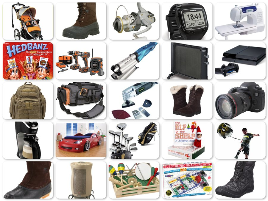 Top 25 Holiday Gifts Ideas - Something for Everybody on Your List - Reviews of Top 10 Power and Hand Tools - Do-It-YourSelf!