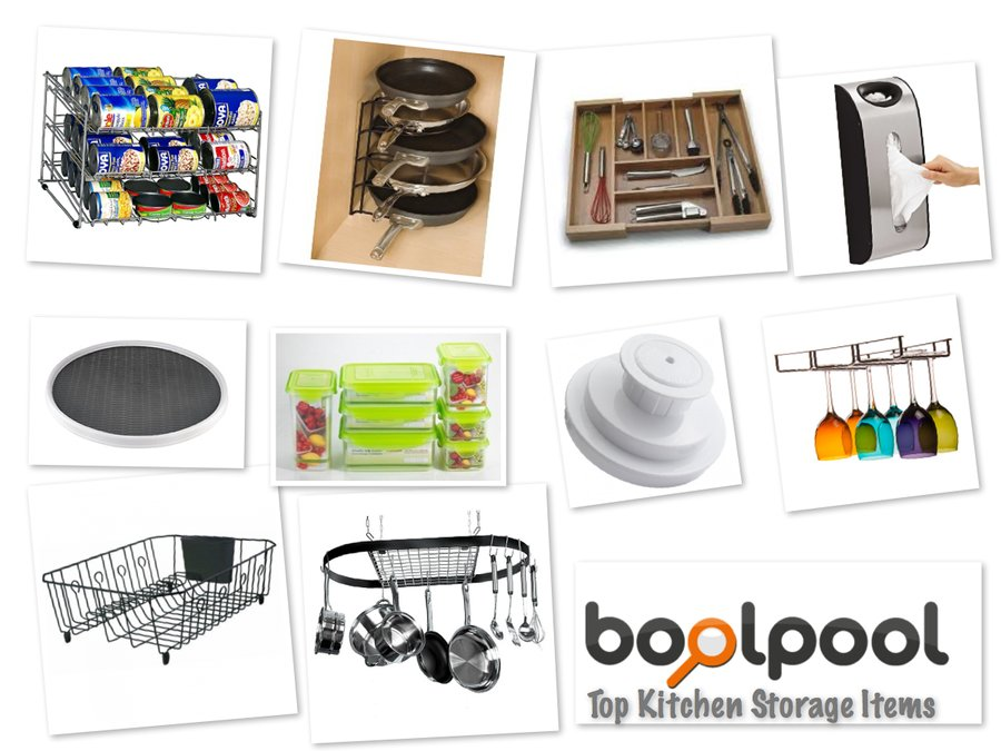 Reviews of Top 10 Kitchen Storage and Organization Items - Get the Best Out of Your Kitchen Space - Reviews of Top 10 Garage and Home Organizers for Clutter Free Living