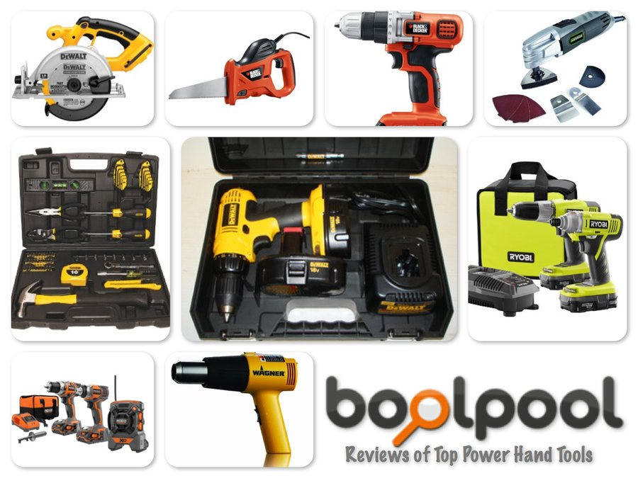Reviews of Top 10 Power and Hand Tools - Do-It-YourSelf!