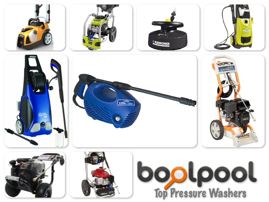 Reviews of Top 10 Pressure Washers - Get Ready for Spring Cleaning - Reviews of Top 10 Fishing Gears - Go Fishing!