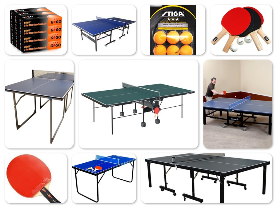 Reviews of Top 10 Table Tennis Tables and Accessories - Ping-Pong and Spin The Ball! - Reviews of 10 Most Popular Sports Balls and Ball Organizers