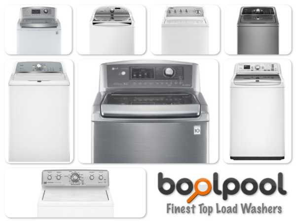 Reviews of Top 11 Top Load Washers - Side by Side Comparison