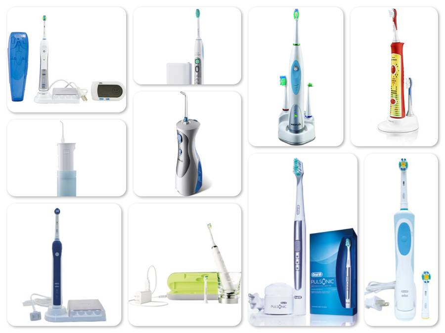Reviews of Top 10 Electric Toothbrushes and Flossers