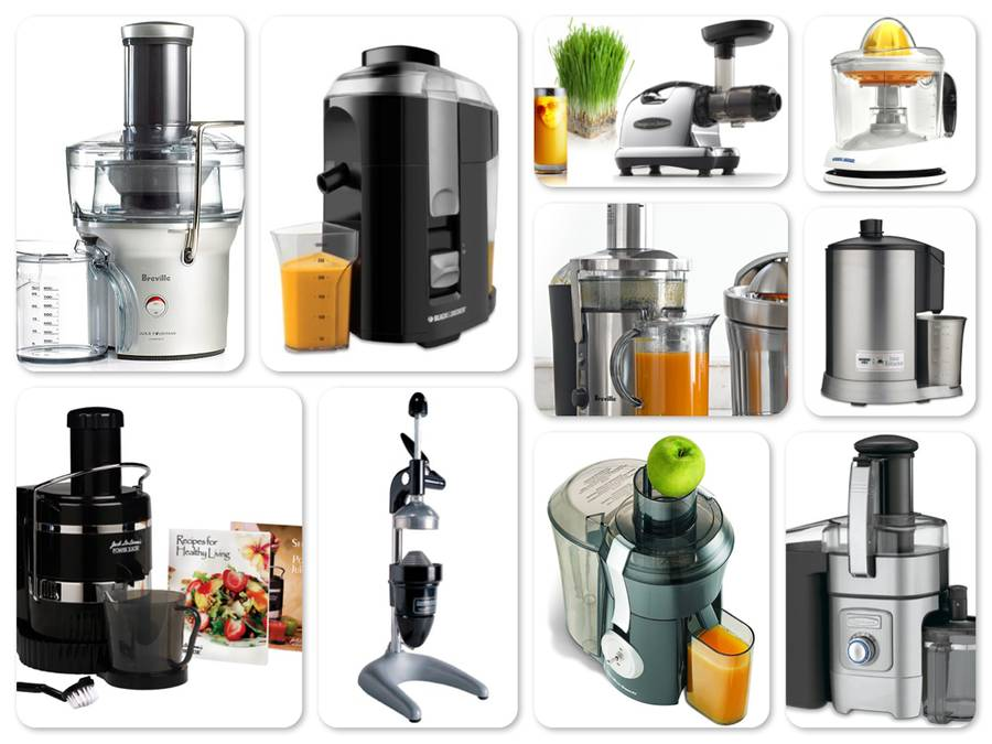 Reviews of Top 10 Juicers - Drink Your Vegetables and Fruits!