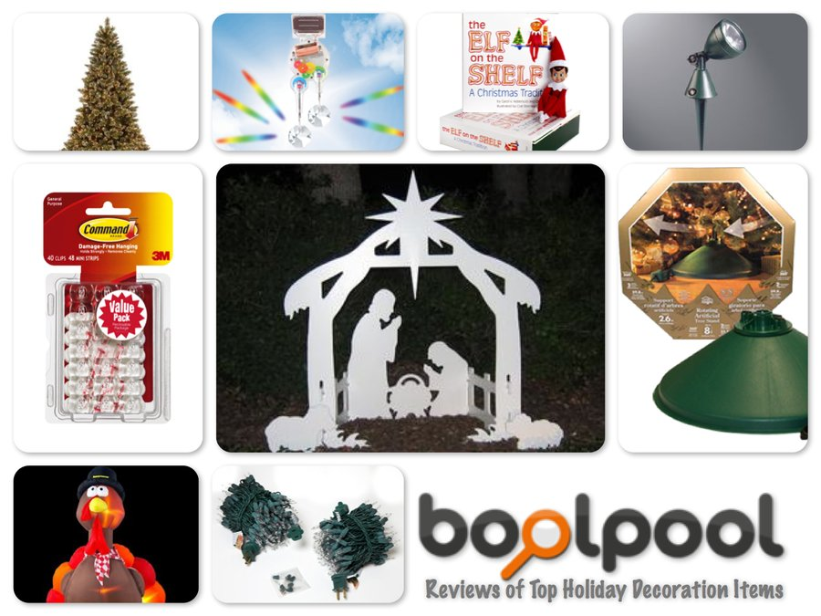 Reviews of 10 Most Popular Holiday Decoration Items