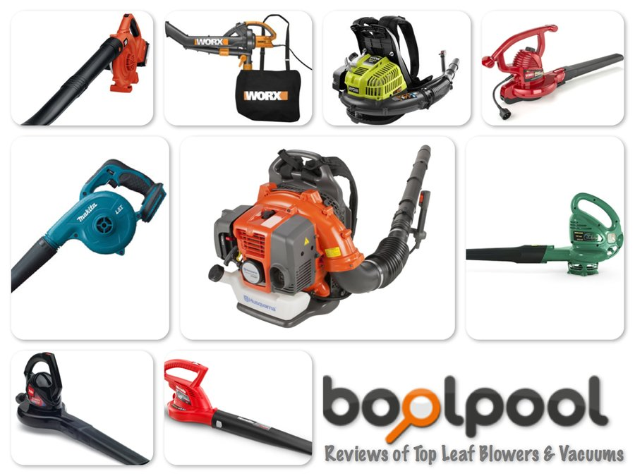 Reviews of Top 10 Leaf Blowers & Vacuums
