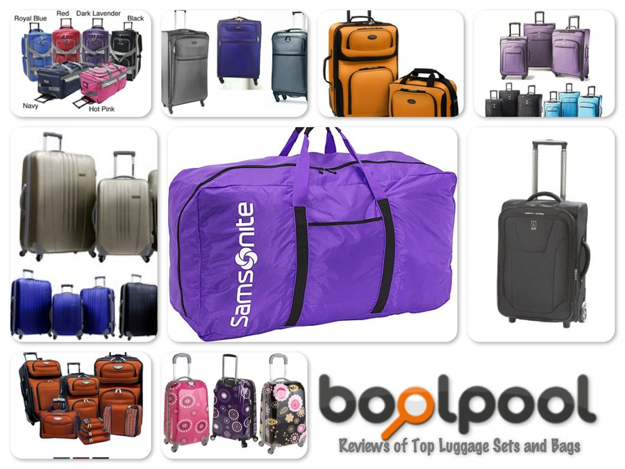 Reviews of 10 Most Popular Luggage Sets and Bags - Travel in Style