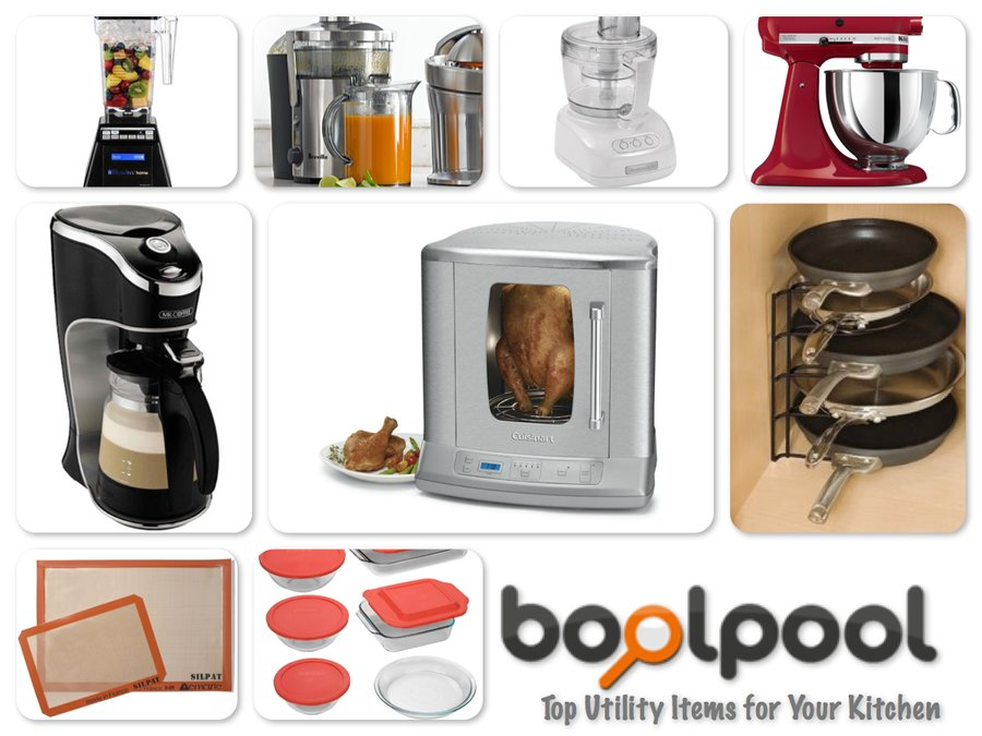 Reviews of Top 10 Utility Items for Your Kitchen