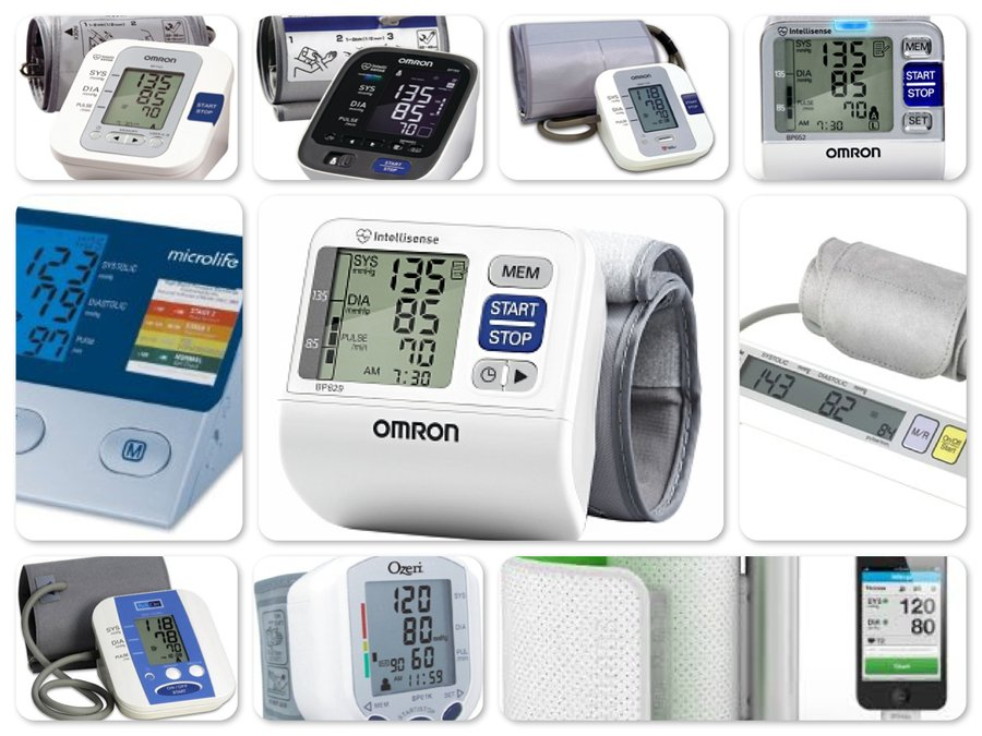 Reviews of Top 10 Blood Pressure Monitors