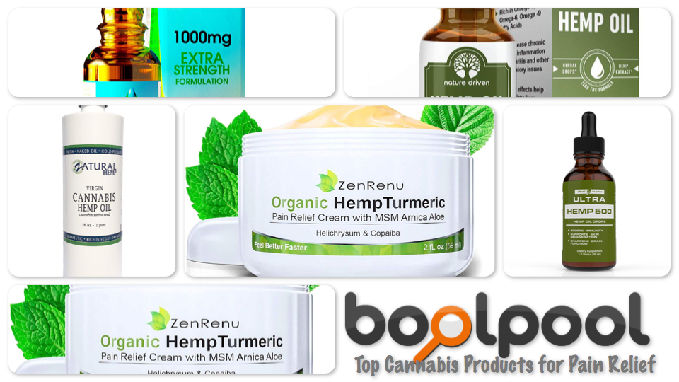Top 5 Cannabis Products for Pain Relief
