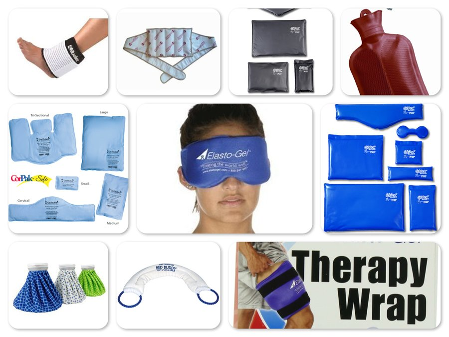 Reviews of Top 10 Hot and Cold Therapies - Relax Your Joints and Muscles