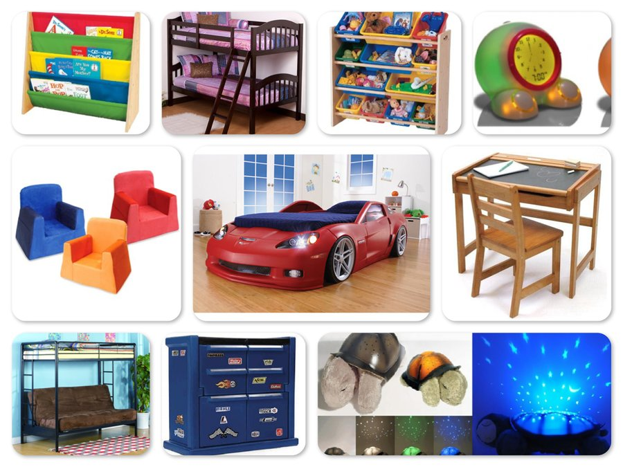 Reviews of Top 10 Kids' Bedroom Furniture and Decor Items