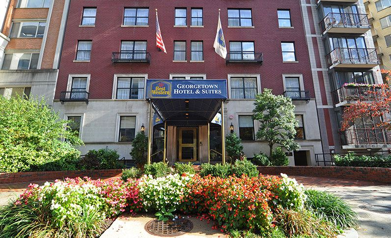 Best Western Georgetown Hotel Suites 1121 New Hampshire Ave Nw Washington Dc Jpg