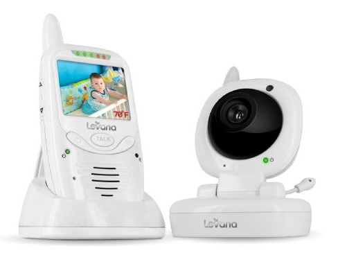 Review of Levana 32111 Jena Digital Baby Video Monitor with Talk to Baby Intercom