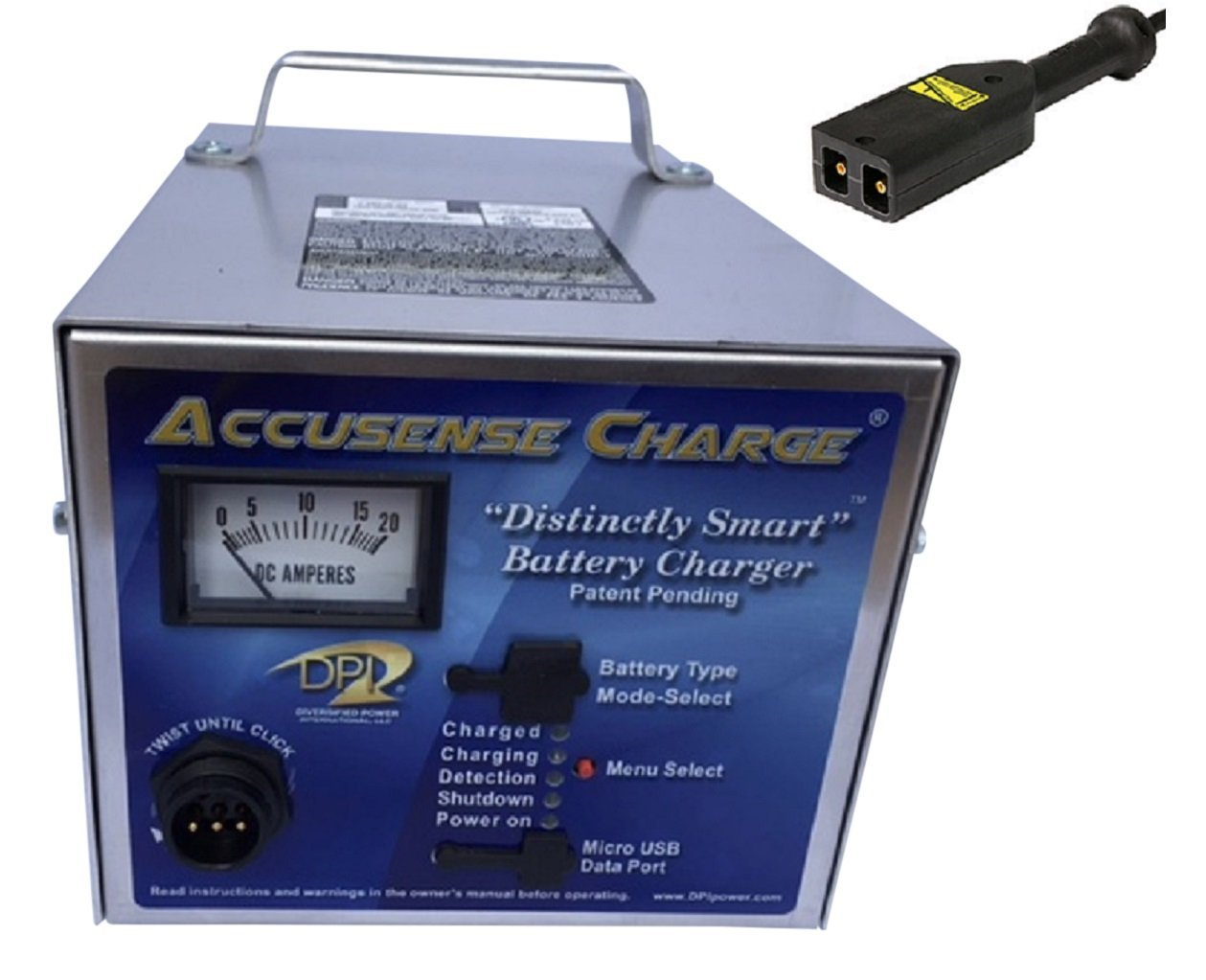 Accusense 36volt 18amp Golf Cart Battery Charger for Ez-go