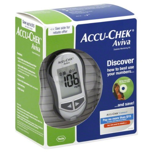 ACCU-CHEK Aviva Diabetes Blood Glucose Monitoring Care Kit - Reviews of Top 10 Blood Pressure Monitors