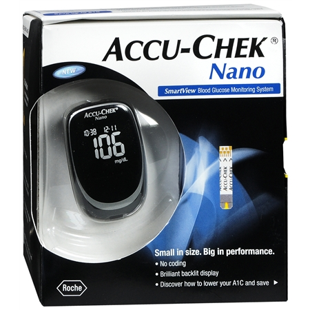 Accu-Chek Nano Blood Glucose Monitoring System - Reviews of Top 10 Blood Pressure Monitors