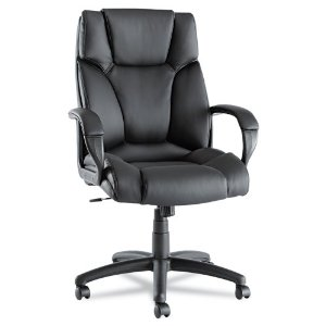 Review of Alera Fraze High-Back Swivel/Tilt Chair, Black Lea ...
