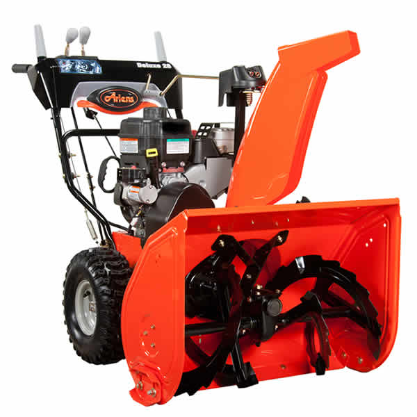 Review of Ariens Deluxe 28 in. Electric Start Gas Snow Blower with Auto-Turn Steering (Model: 921030)