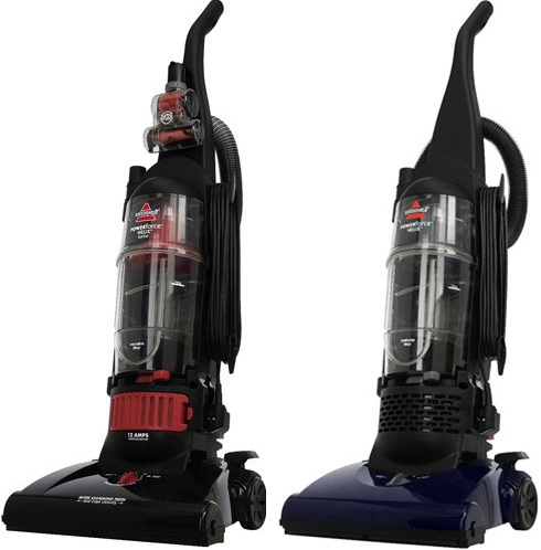 Bissell PowerForce Helix Bagless Upright Vacuum (Models: 12B1 & 68C7) - Reviews of Top 12 Vacuum Cleaners and Steam Cleaners