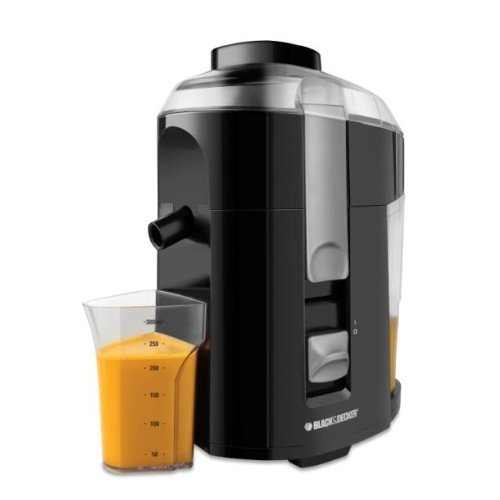Black & Decker JE2200B 400-Watt Fruit and Vegetable Juice Extractor with Custom Juice Cup - Reviews of Top 10 Juicers - Drink Your Vegetables and Fruits!