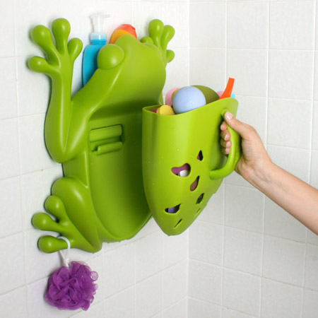 Review of Boon Frog Pod Bath Toy Scoop,Green