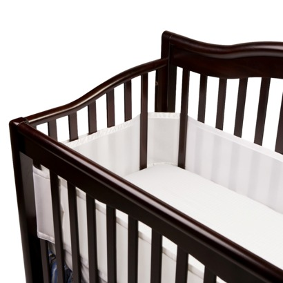 BreathableBaby Breathable Mesh Crib Liner - Reviews of Top 10+  Items for Baby Nursery - Happy Baby, Happy Parents!