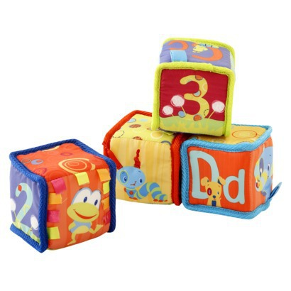Review of Bright Starts Grab and Stack Blocks