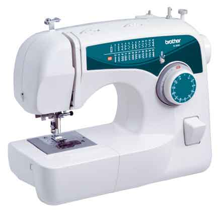 Brother 25-Stitch Free-Arm Sewing Machine, XL-2600i - Reviews of Top 10 Sewing and Embroidery Machines and Supplies - Be Your Own Designer