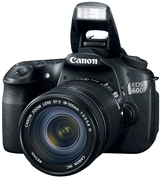 Canon EOS 60D 18 MP CMOS Digital SLR Camera - Reviews of Top 15 Mother's Day Gift Ideas for Active and Outdoorsy Moms