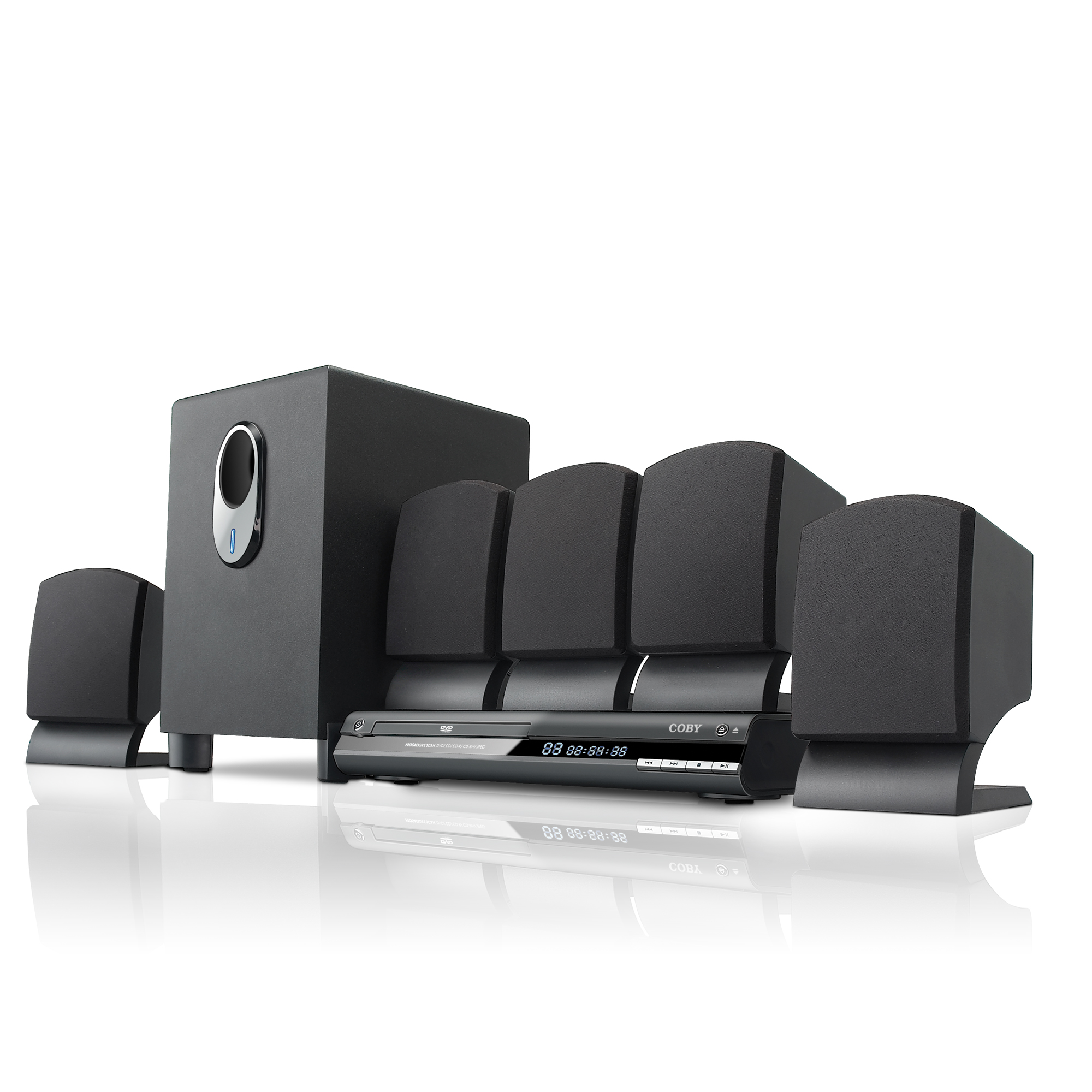 Review of Coby DVD765 5.1-Channel DVD Home Theater System